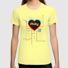 Philly In Transit T-shirt