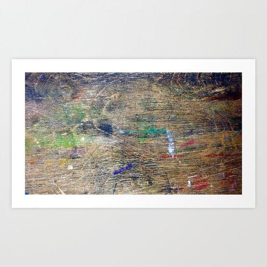 wood.02 Art Print