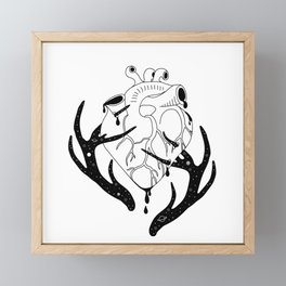 Innocent Stag Framed Mini Art Print