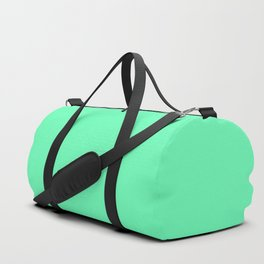 Spring - Pastel - Easter Green Solid Color 3 Duffle Bag