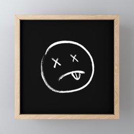 Dead eyes Framed Mini Art Print