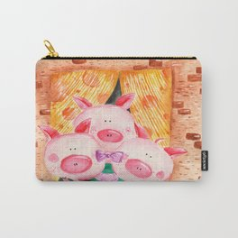 Three little pigs / KudraArt Carry-All Pouch