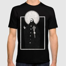 The Tarot of Death Black LARGE Mens Fitted Tee