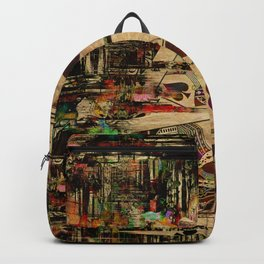 Abstract Vintage Playing cards  Digital Art Backpack