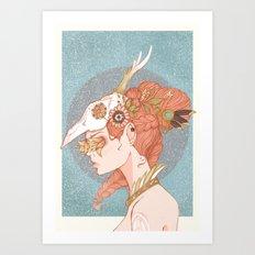 Of Gold and Grain Art Print