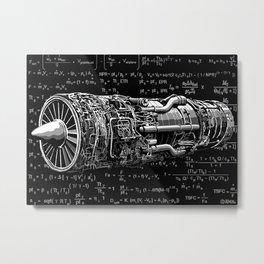 Thrust matters! Metal Print