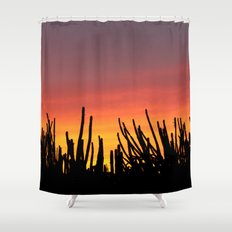 Catching fire Shower Curtain