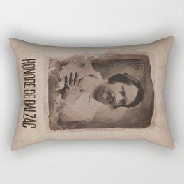 Honore de Balzac Rectangular Pillow