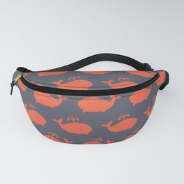 Whale Shapes Underwater Fanny Pack