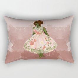 Summer Dress Rectangular Pillow