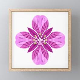 Fireweed Framed Mini Art Print