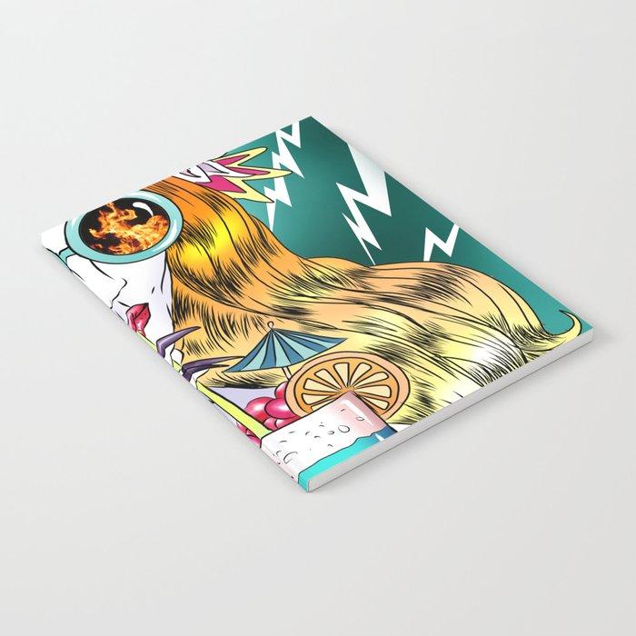 Beach Frenzy Notebook