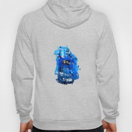 Blue Emotion Hoody
