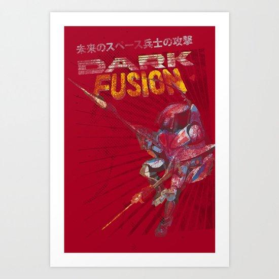 Dark Fusion Art Print