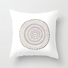 Mandala Smile A Throw Pillow