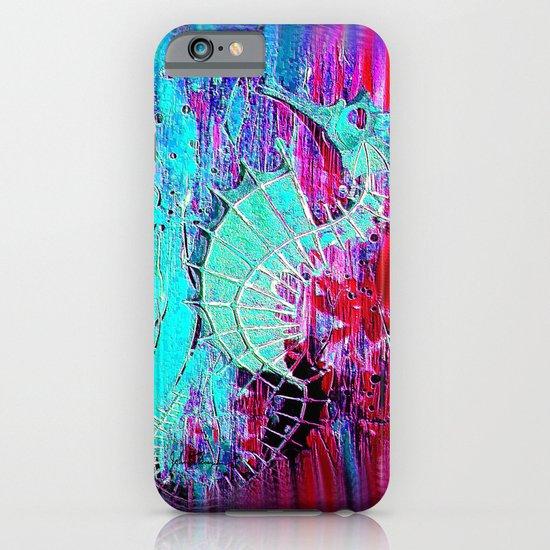 Seahorse Skeleton iPhone & iPod Case