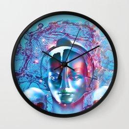Robot Transcendence Wall Clock