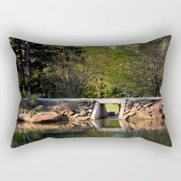 Muscogee (Creek) Nation - Honor Heights Park Azalea Festival, No. 4 of 12 Rectangular Pillow