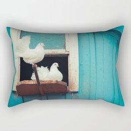 turtledoves Rectangular Pillow