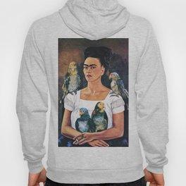 Frida Kahlo Birds Hoody