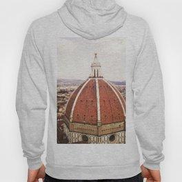 Duomo - Hazy, Florence Photography Hoody