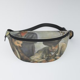The Card Players Fanny Pack