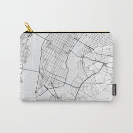 New York Map Carry-All Pouch