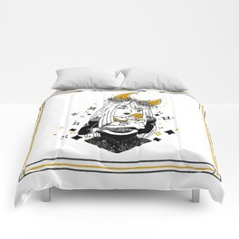 Moon Witch - Gold phase Comforters