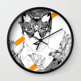 The Hunt Wall Clock