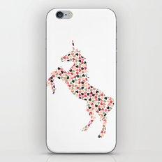Multi Heart Unicorn iPhone & iPod Skin