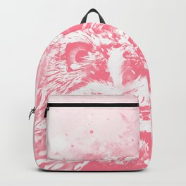 owl portrait 5 wspw Backpack