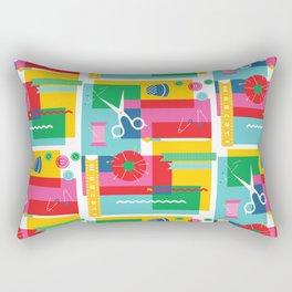 Craft Collage Rectangular Pillow