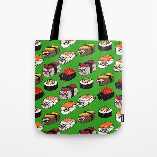 Sushi Sloth Tote Bag