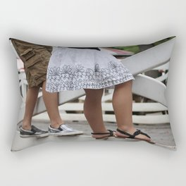 When we were young Rectangular Pillow