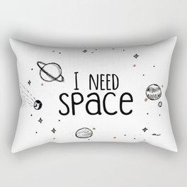 I need S P A C E Rectangular Pillow