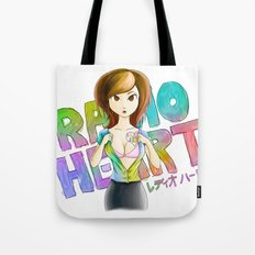 Radioheart Tote Bag