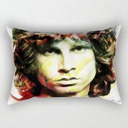 Jim in White Rectangular Pillow