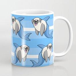 Sharky Pug Coffee Mug