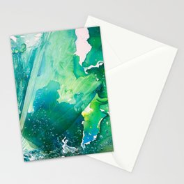 Environmental Importance, Deep Sea Water Bubbles Stationery Cards