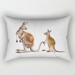 Being Tailed (Wordless) Rectangular Pillow