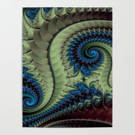 Fractal Abstract 87 Poster