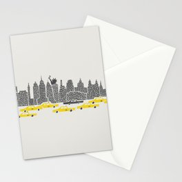 New York City Panoramic Stationery Cards