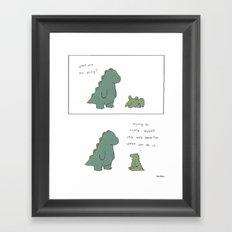 Tickle  Framed Art Print