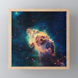 Carina Nebula Framed Mini Art Print