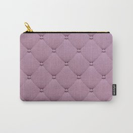 Pastel pink elegant upholstery pattern Carry-All Pouch