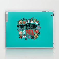 Time Bomb of Pain Laptop & iPad Skin