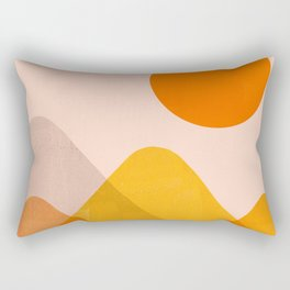 Abstraction_Mountains_02 Rectangular Pillow