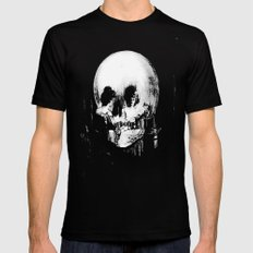 All Is Vanity: Halloween Life, Death, and Existence  LARGE Black Mens Fitted Tee