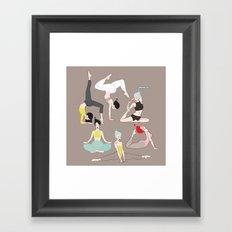 yogis collection2 Framed Art Print