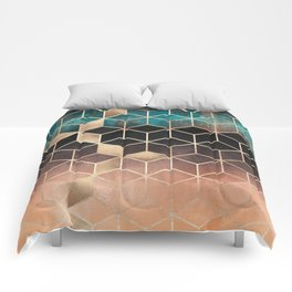 Ombre Dream Cubes Comforters